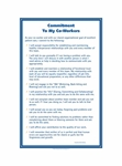 Commitment to My Co-Workers© Health Care Oversize Poster - 24 x 36 in.