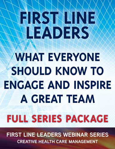 First Line Leaders Webinar Series Package