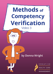 Methods of Competency Verification Video