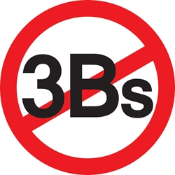 No 3Bs Pin
