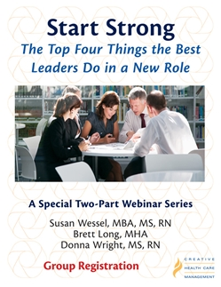 Start Strong: The Top Four Things the Best Leaders Do in a New Role - Group Registration